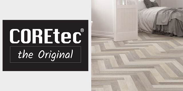 Featuring waterproof flooring from COREtec.