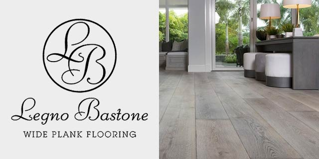 Featuring wide plank hardwood flooring from Legno Bastone.